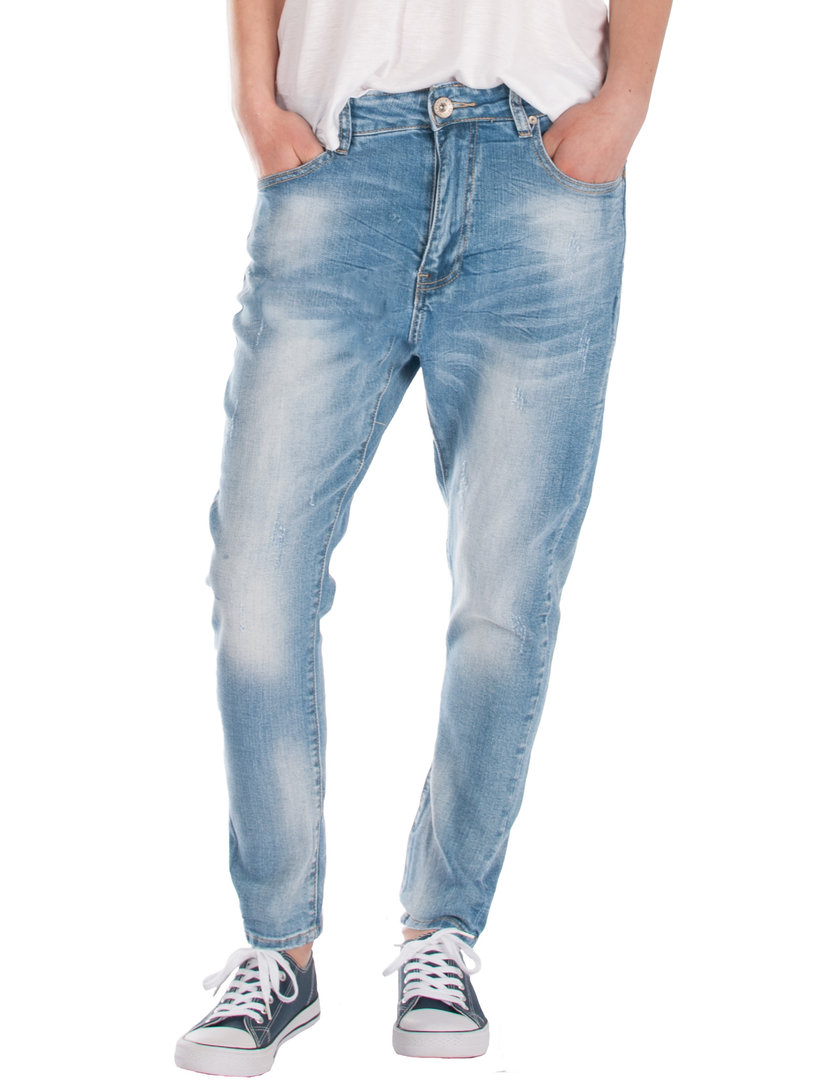 Fraternel Hose Fit Used Boyfriend Baggy Relaxed Damen Jeans drxQECBoeW