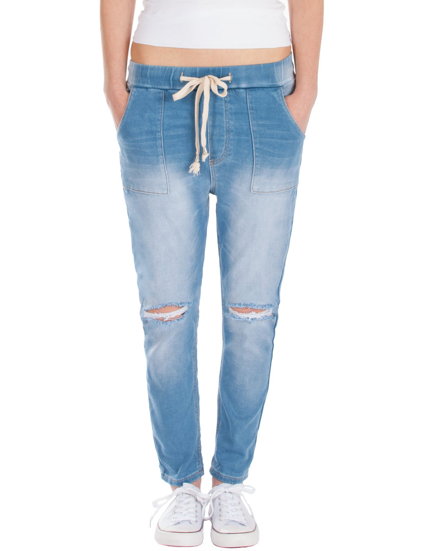 Fraternel Damen Jeans Hose relaxed loose fit