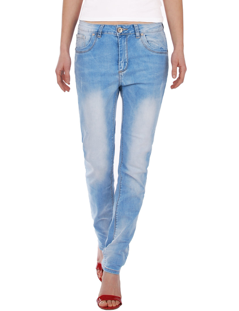 Fraternel Damen Jeans Hose Baggy Boyfriend loose relaxed fit